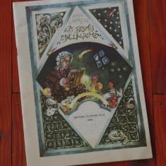 Carte -- Fat frumos din Lacrima de Mihai Eminescu - Ed. Clusium 1990 - 30 pagini cu ilustratii !!! - Carte de povesti