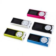 Mini MP3 Player cu radio, Display, FM radio