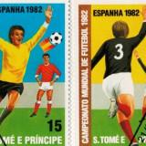 Timbre campoinatul Mondial Spania 1968, Stampilat