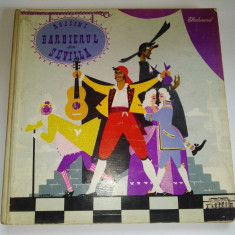 Barbierul din Sevilia - Rossini Album 3 discuri Electrecord 1960 RPR - Muzica Opera, VINIL