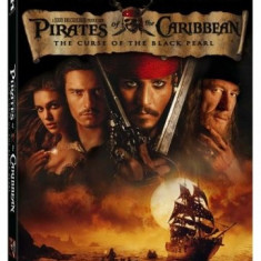 Piratii din Caraibe / Pirates of the Caribbean 1 si 2 - Film actiune disney pictures, DVD, Romana
