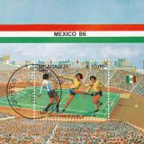 Cilota timbru Mexico 86, Stampilat