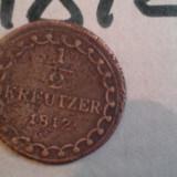 1/2 KREUTZER 1812 +CADOU 100 LEI REGE MIHAI - Moneda Medievala, Europa