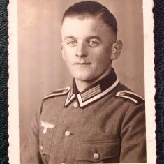 FOTOGRAFIE GERMANIA NAZISTA MILITAR GERMAN IN UNIFORMA NR. 23 - 8 x 6 cm ** - Fotografie veche