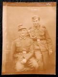 FOTOGRAFIE GERMANIA NAZISTA MILITARI GERMANI IN UNIFORMA NR. 17, 9 x 6,5 cm **