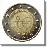 LUXEMBURG 2 euro comemorativa 2009 EMU-10 ani Uniune, UNC, Europa, Cupru-Nichel