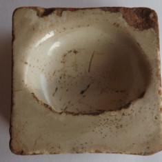 Ceramica Transilvaneana veche.Piesa din lut.Rereducere!