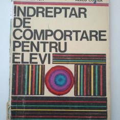 INDREPTAR DE COMPORTARE PENTRU ELEVI - BRAUNER ION * ALECU COSTEA ( 1170 )