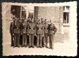 FOTOGRAFIE GERMANIA NAZISTA MILITARI GERMANI IN UNIFORMA NR. 24 - 9 x 6 cm **