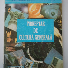 INDREPTAR DE CULTURA GENERALA ( VOL. 1 ) - M. A. NICOLAE CARSIUM M. POSTELNICU ( 1200 ) - Carte Cultura generala