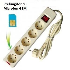 Prelungitor spion cu microfon GSM cu Activare Vocala, Transmitere nelimitata!!!
