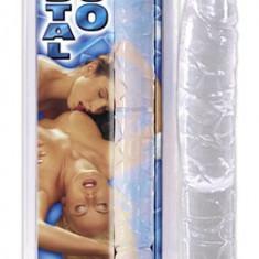 Dildo Dublu Crystal Duo - Dildo sticla