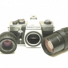 Praktica MTL 5 B + 50mm f.18 + 135mm f.28 - Aparat Foto cu Film Praktica