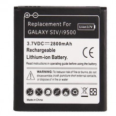 Acumulator baterie 2800mAh Samsung Galaxy S4 i9500 i9505 + folie ecran, Li-ion