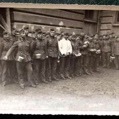 FOTOGRAFIE GERMANIA NAZISTA MILITARI GERMANI IN UNIFORMA NR. 9 - 12 x 9 cm ** - Fotografie veche