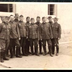 FOTOGRAFIE GERMANIA NAZISTA MILITARI GERMANI IN UNIFORMA NR. 10, 10 x 7 cm ** - Fotografie veche
