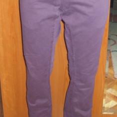 NOU Pantaloni lungi drepti tip blugi mov RIVER ISLAND W 30 L 32 - Pantaloni dama Vero Moda