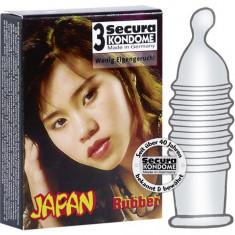 Prezervativ Secura Japan 3 buc. - Prezervative