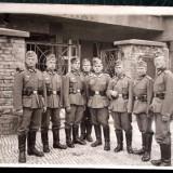 FOTOGRAFIE GERMANIA NAZISTA MILITARI GERMANI IN UNIFORMA NR 26, 15 x 10,5 cm **