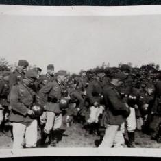 FOTOGRAFIE GERMANIA NAZISTA MILITARI GERMANI IN UNIFORMA NR. 25 - 12 x 9 cm ** - Fotografie veche