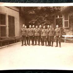 FOTOGRAFIE GERMANIA NAZISTA MILITARI GERMANI IN UNIFORMA NR. 15 - 9 x 6 cm ** - Fotografie veche