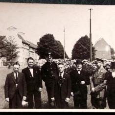 FOTOGRAFIE GERMANIA NAZISTA 2 MILITARI GERMANI IN UNIFORMA NR 7, 14 x 9 cm ** - Fotografie veche