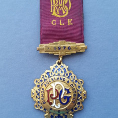Ordin Masonic 1976 - RAOB - Noua Zeelanda