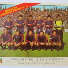 FOTO MARE ECHIPA FOTBAL STEAUA BUCURESTI 1985