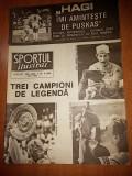 Revista sport august 1990 ( debutul lui hagi la real madrid )