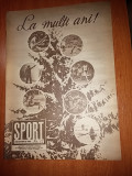 revista sport decembrie 1988