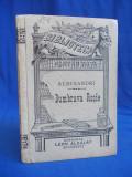 ALECSANDRI - DUMBRAVA ROSIE ( POEM ISTORIC ) * PREFATA I.BIANU - LIBRARIA LEON ALCALAY - BUCURESCI - 1900
