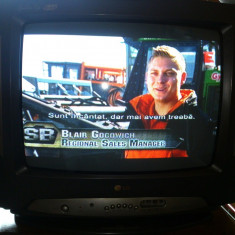 Televizor LG cu telecomanda originala -stare foarte buna- PRET EXCELENT!!! - Televizor CRT