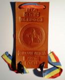 5.502 ROMANIA FANION/ECUSON AUTO ITA CLUJ NAPOCA CIRCUIT VITEZA 1976 ACR