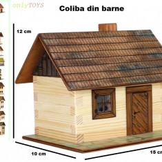 Set constructie casuta casute traditionale din lemn COLIBA log walachia lego - Set de constructie Walachia, 8-10 ani, Unisex