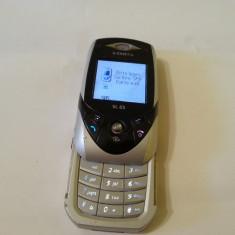 Siemens SL65 - 69 lei - Telefon mobil Siemens, Argintiu, Nu se aplica, Neblocat, Fara procesor