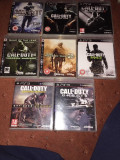 Vand 7  jocuri  CALL OF DUTY PS3 / Playstation 3 : Ghosts , Black Ops etc
