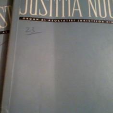 JUSTITIA NOUA ORGAN AL ASOCIATIEI JURISTILOR DIN RSR diverse numere, Alta editura