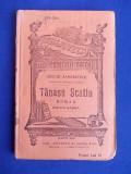 DUILIU ZAMFIRESCU - TANASE SCATIU ( ROMAN ) - EDITIA IV-A - BUCURESTI - EDITIE INTERBELICA !!!