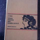 FEMEI VESTITE DIN LUMEA ANTICA -- COROANA SAU CUNUNA - D. Tudor -- 1972, 371 p. + Ilustratii - Istorie