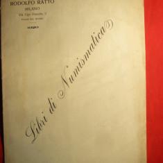 Rodolfo Ratto - Libri di Numismatica - Ed. 1920 - Ed. Milano