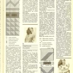 Revista tricotaje FURGE UJJAK, nr. 1/1994, completa, limba maghiara - Revista moda