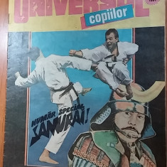 Revista universul copiilor nr. 3-4 /1991 - Reviste benzi desenate