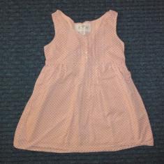 Bluzita tunica roz deschis, f draguta, marca GAP, fete 6-7 ani, Culoare: Rose
