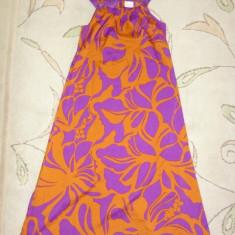 Rochita de vara deosebita, lunga, marca NEXT, fete 8 ani/ 128 cm, Culoare: Multicolor
