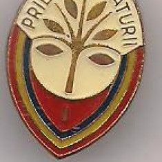 Insigna-PRIETEN AL NATURII cl a- I-a