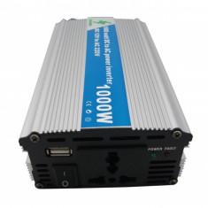 Invertor tensiune 12V/220V -1000W - Invertor curent