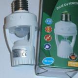 Dulie cu senzor de miscare / Fasung cu senzor de miscare - Senzori miscare