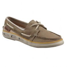 Pantofi Columbia Vulc N Vent Boat Lace Suede pentru dame (CLM-BL2618M-212) - Mocasini dama Columbia, Culoare: Bej, Marime: 36, 40