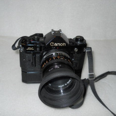 Vand CANON A-1 cu obiectiv si winder - Aparat Foto cu Film Canon