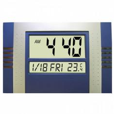 Ceas digital de perete cu termometru si calendar - Ceas de perete